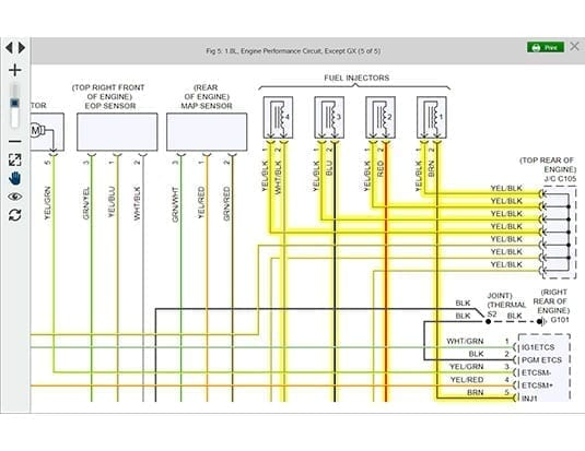 Better Wiring Diagrams in Mitchell 1's Latest Software Release - AutosphereAutosphere.ca