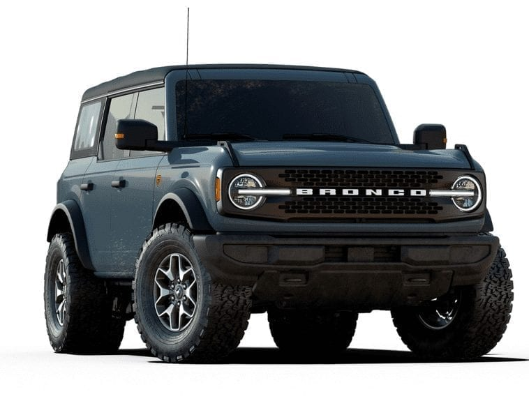 Ford bronco Sasquatch package