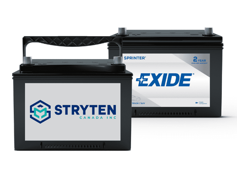 Stryten Canada Inc Exide Batteries